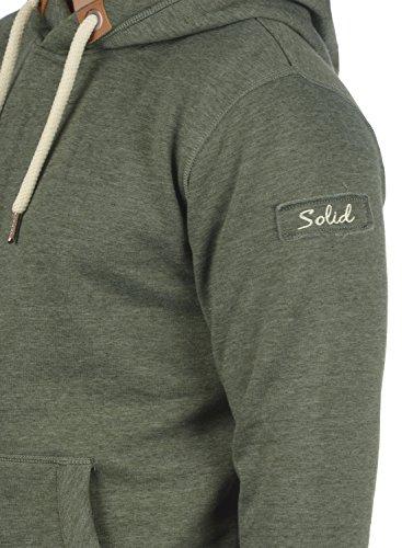 SOLID TripHood Herren Kapuzenpullover Hoodie Sweatshirt aus hochwertiger Baumwollmischung Climb Ivy Melange