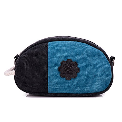 Jothin - Borse a spalla Ragazza donna Black with Blue
