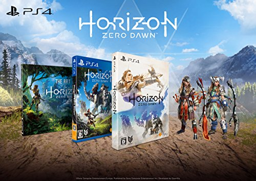 Horizon Zero Dawn First Press Limited (Anglais Inclus) [PS4](Import Giapponese)