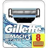 Gillette Mach3 Start Recambio Maquinilla de Afeitar - 8 Unidades