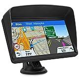 GPS Navi Navigationsgeräte für Auto, Navigation für Auto LKW PKW Touchscreen 7 Zoll 8G 256M Sprachführung...