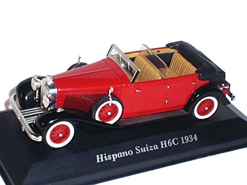hispano-suiza-h6c-h6-c-1934-rot-oldtimer-1-43-altaya-by-ixo-modell-auto-modellauto-sonderangebot