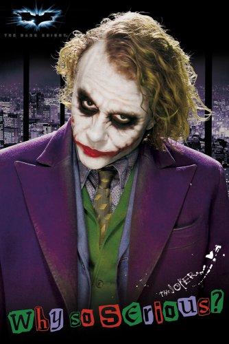 GB eye Ltd, Batman, Dark Knight, Joker Solo, Maxi Poster/Affiche, (61 x 91.5 cm) FP2063