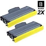 2 Schneider Printware Toner je 7.800 Seiten | 200 Prozent mehr Druckleistung | als Ersatz für TN-2120 für Brother HL-2140, HL-2150N, HL-2170W, MFC-7320, MFC-7440N, MFC-7840W, DCP-7030, DCP-7040, DCP-7045N