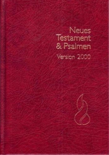 Schlachter N.T. & Psalmen: Schlachter 2000, Grussdruckausgabe, Gebunden, Rot