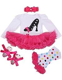 Un Traje de Faldas de Tutú para 20 - 22 Pulgadas Muñecas de Cumpleaños  Vestido de la Muñeca de la Niña Ropa de… 584984485f21