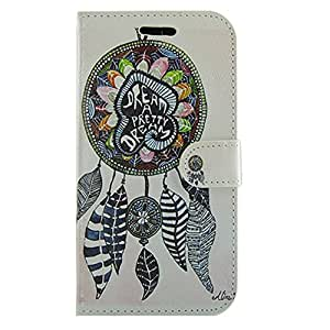 Galaxy S5 Active Case, LU2000 Folio Stylish Patterned Wallet Stand Leather Case Cover for Samsung Galaxy S5 / SV Active G870 Outer&Inner Full Printing - Pattern 5: Pretty Dream