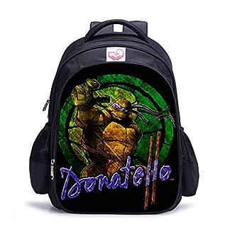 51Ow0YHJsDL. SS324  - WSED Mochila para niños Mochila de Tortuga Ninja Mochila de Dibujos Animados para Adolescentes en 3D Bolsa de Escuela Primaria Bolsa de computadora Bolsa de Viaje