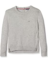 Tommy Hilfiger Mädchen Pullover Ame Basic Sweater