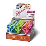 Kindergarten Schere Bastelschere 100% Plastik verschiedene Farben Kinderschere