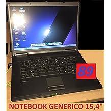 """NOTEBOOK 15,4""""GENERICO-DUALCORE-2GB RAM-HDD160-WINDOWS 7-USATO RICONDIZIONATO-GARANZIA 30 GIORNI"""