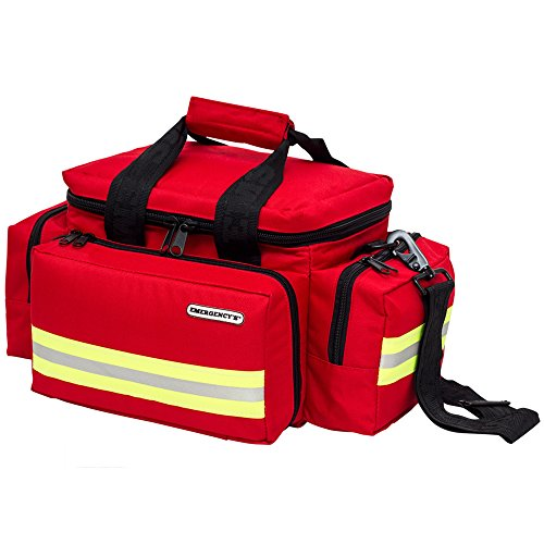 Elite Bags LIGHT BAG Notfalltasche 44 x 25 x 27 cm in 2 Farben, Farben:Rot (Elite Bags Medizinische)