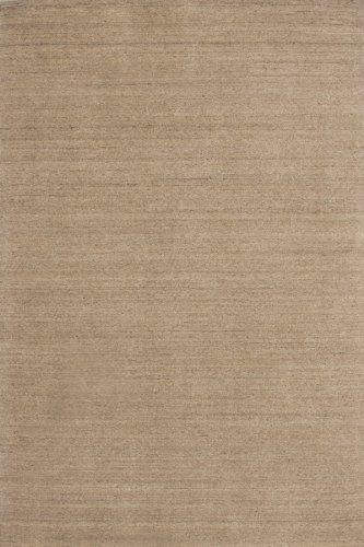 Lalee  347185702  Moderner Designer Teppich / Handarbeit / Uni / Wolle / Beige / Grösse : 120 x 170 cm