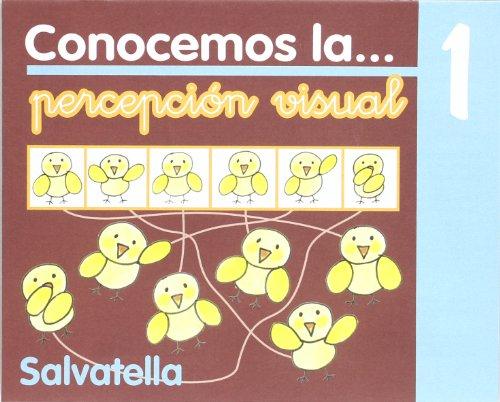 Conocemos percepción visual 1 (Conocemos p.visual) por Teresa Sabaté Rodié