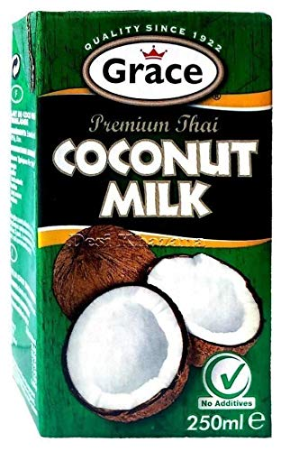Grace Premium Coconut Milk 250ml (Pack of 12) 2