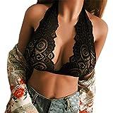 Dorical Damen Dessous reizvoller Art- und Weisedamehalter-elastischer Käfig-reizvoller Strappy Bustier BHS Harness Elastische Sexy Body Cage BH Halter Crop Top