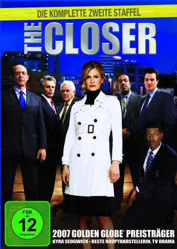 the closer staffel 2 4 dvds preisbarometer. Black Bedroom Furniture Sets. Home Design Ideas
