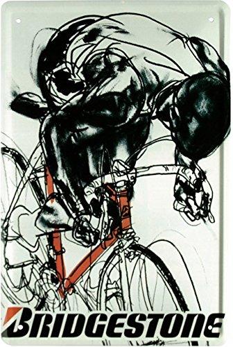 fahrrad-rennfahrer-bridgestone-werbung-rennrad-biker-20x30-cm-blechschild-946