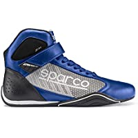 Sparco 00125740AZSI Botines para Karting, Azul/Plata, 40