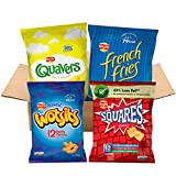 Walkers under 100 calories Multipacks Snacks and Crisps Box (48 Single Bags)