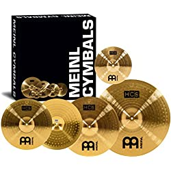 MEINL HCS 14/16/20 + FREE 10 SPLASH Cymbals Cymbal value packs