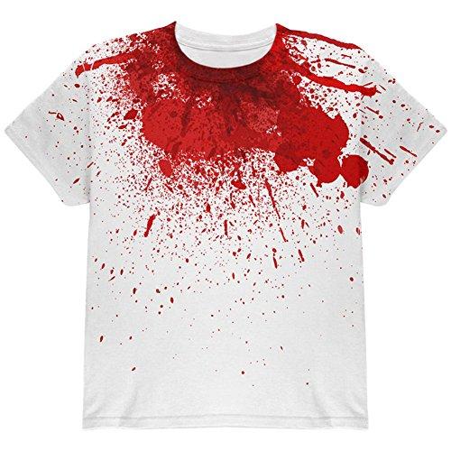 m Opfer Enthauptung aller Jugend T Shirt Multi YMD (Halloween Kinder-opfer)