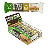 Begreen Bio Reisprotein Riegel - Be Green Vegan - 24 x 50g (Erdnuss-Chia)