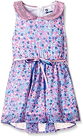 612 League Girls' Dress (ILW16I52061_White_3-4YRS)