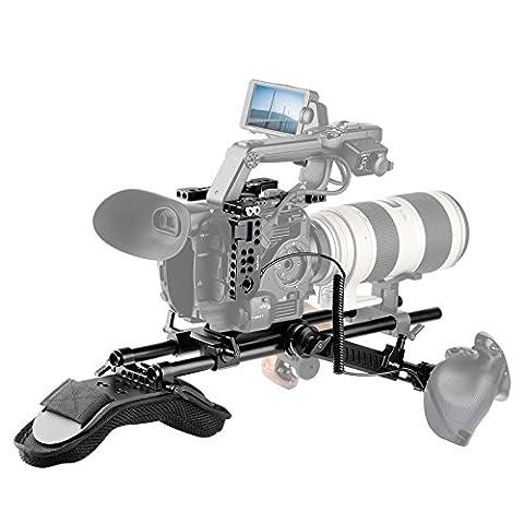 SmallRig Kit Accessoires Professionnel pour Sony FS5 2007