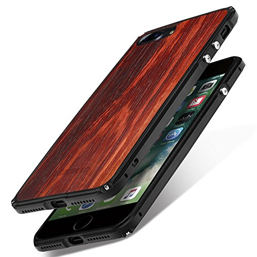 Funda iPhone 7 Plus, Funda iPhone 8 Plus Carcasa, SHOWKOO Metálico Aluminio...
