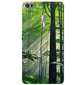 PrintVisa Nature Scene Scenary 3D Hard Polycarbonate Designer Back Case Cover for Asus Zenfone 3 Ultra ZU680KL
