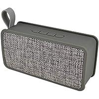 Altavoz de Bluetooth, altavoz inalámbrico portátil del reproductor de audio de la tela portable (Color : A-gray)