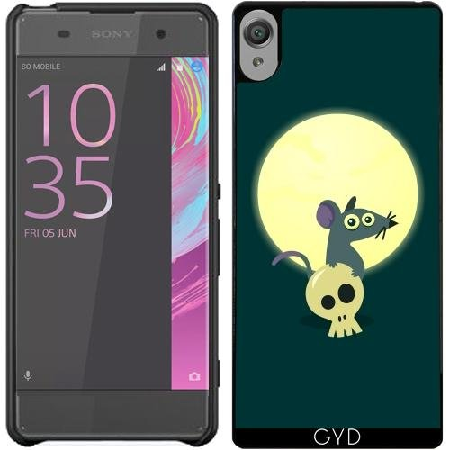 coque-pour-sony-xperia-xa-lune-rat-by-anishacreations