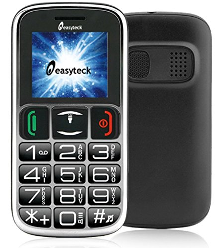 Easyteck T103C Cellulare Bluetooth SOS Tasti Grandi e Parlanti...