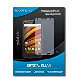 "3 x SWIDO® film protecteur Motorola Moto X Force protection d'écran feuille ""CrystalClear"" invisible"