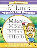Milania Letter Tracing for Kids Trace my Name Workbook: Tracing Books for Kids ages 3 - 5 Pre-K & Kindergarten Practice Workbook