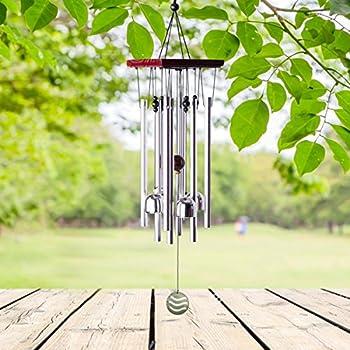 Windspiel für Draußen Glockenspiel für Garten und Balkon