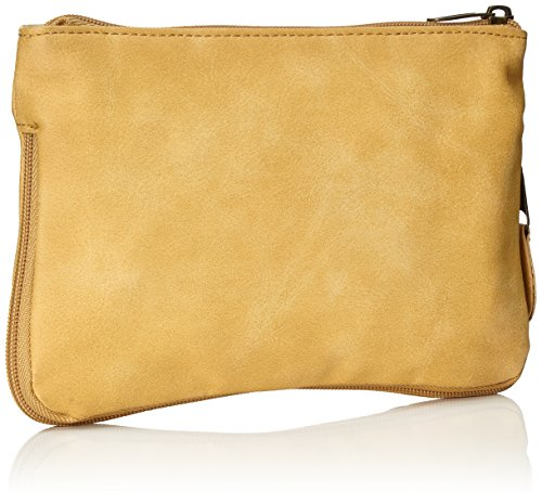 Volcom–Borsa a mano Made Famous Clutch, Donna, Handtasche Made Famous Clutch, Black, 50 x 33.5 x 10 cm, 0.3 Liter Oro Spice