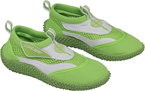 Coral Verde Bianco Scarpette Cressi Mare Unisex Bambini Junior Ynxwng7qOd
