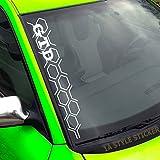 GTD Aufkleber WABEN Frontscheibenaufkleber 50cm NEW GOLF GTI LOOK-STYLE
