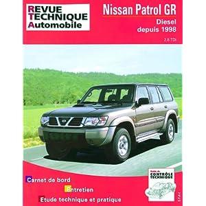 Revue Technique Automobile, TAP 376.1 : Nissan Patrol GR, Diesel depuis 1998
