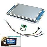 Unikel Nextion HMI Smart LCD-Display, Module TFT, Touch-Panel für ESP8266 5''