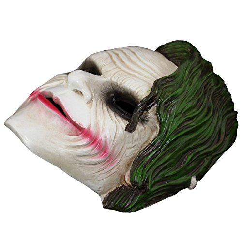 Nihiug Maske Clown Schädel Hip-Hop Männlich Weiblich Halloween Adult Maske Horror Anime Sägen * Pest Doctor Mould Halloween Maske Boo Banner Ghost,A