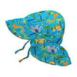 I Play 797150-656-51 - Sombrero con solapa, niños, color agua