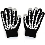 Mens Ladies Winter Touch Screen Magic Noctilucence Gloves for Ipad Iphone Samsung HTC SmartPhone (Paw)