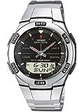 Casio Unisex-Armbanduhr Analog - Digital Quarz Edelstahl WVA-105HDE-1AVER