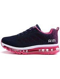 tqgold® Unisex Uomo Donna Scarpe da Ginnastica Corsa Sportive Fitness  Running Sneakers Basse Interior Casual 8225f68dc12