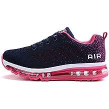 best loved a849a 9a972 tqgold® Chaussure de Sport Homme Femme Basket de Running Fitness Course  Sneakers Basses