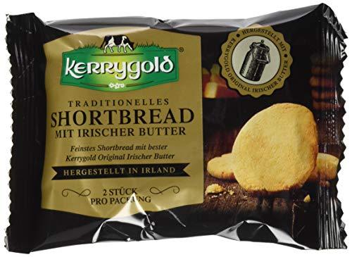 Kerrygold Butter Shortbread - Traditionelles Irishes Mürbeteiggebäck, 20er Pack (20 x 50 g)