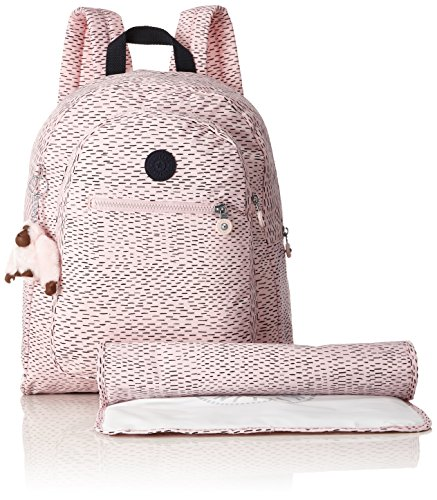 Kipling , Zaino Casual  Unisex, Monkey Novelty (multicolore) - K1011830D Soft Pink Str